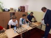 II Symultana szachowa z Wójtem Gminy Lubin- Tadeuszem Kielanem - 23.05.2018