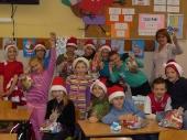 Mikołajkowe Skrzaty nawiedziły naszą szkołę