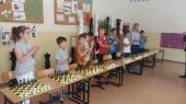 Symultana szachowa z wójtem Tadeuszem Kielanem - 2017
