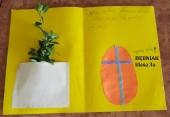 Z życzeniami Wielkanocnymi od klasy 3a